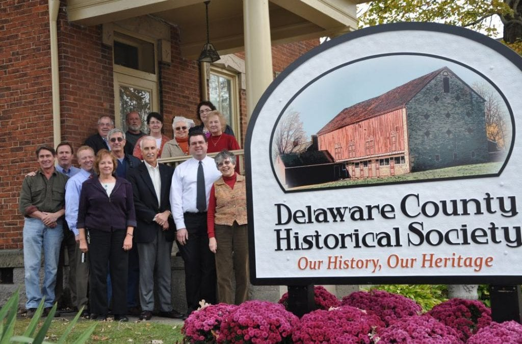 Historical Society Unveils New Sign