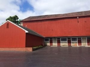 Garth Oberlander Barn - Historic Barn Painting - Delaware Ohio