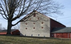 Historic Stone-End Barn - The Barn at Stratford - Delaware County Historical Society Annual Meeting 2014