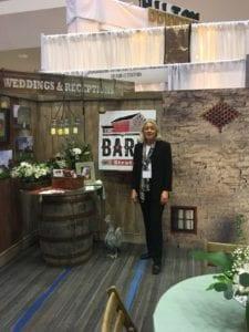 Barn Wedding Booth - Columbus Weddings Show - The Barn at Stratford - Wedding Venue - Delaware Ohio