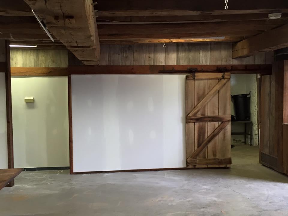New Kitchen Wall & Door