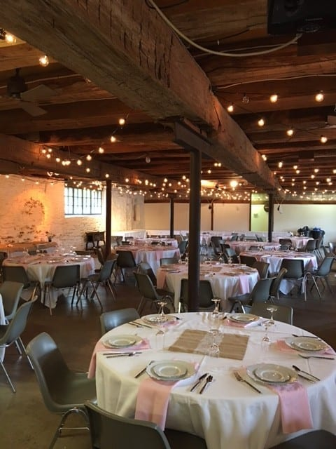 The Barn at Stratford gets ready to Party