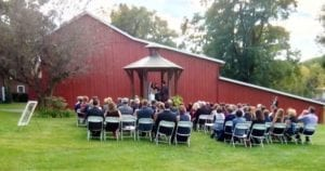Gazebo Wedding - Barn Weddings - The Barn at Stratford - Event Venue - Delaware Ohio