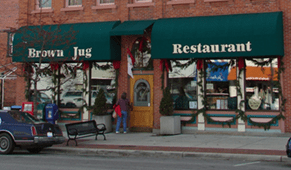 Brown Jug Restaurant - early restaurants - Delaware Ohio