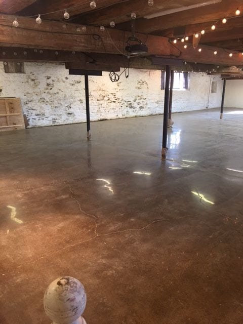 Floors After Staining