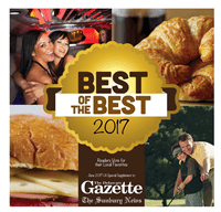 Reader's Choice 2017 Delaware Gazeette - The Barn at Stratford - Event Venue - Delaware Ohio