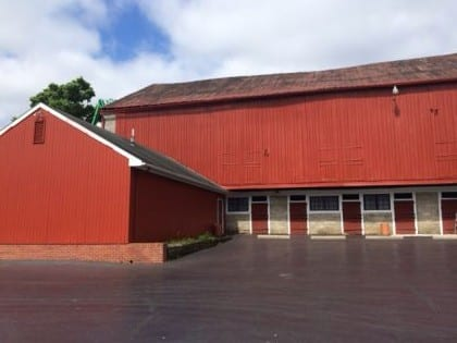 The Barn has a complete new paint job!