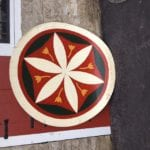 Hex Sign 1 rescued from Barn Loft_web