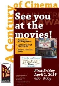 Historic Theatre - Strand Theatre - 100 Years - Delaware Ohio