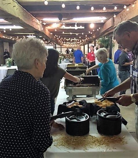 Reception - Wright & Moore/Farm Law - The Barn at Stratford - Event Venue - Delaware Ohio