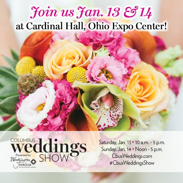 Join Us at Columbus Weddings Show 2018