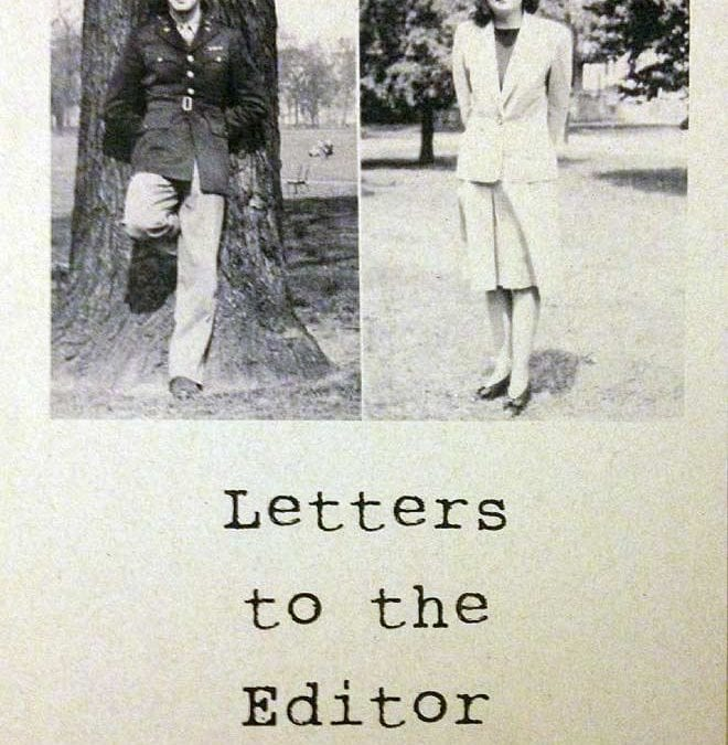 Letters to the Editor – WWII History