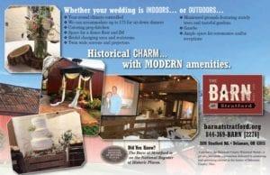 Charming Weddings - The Barn at Stratford - Event Venue - Delaware Ohio